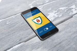 cyber security, smartphone, cell phone